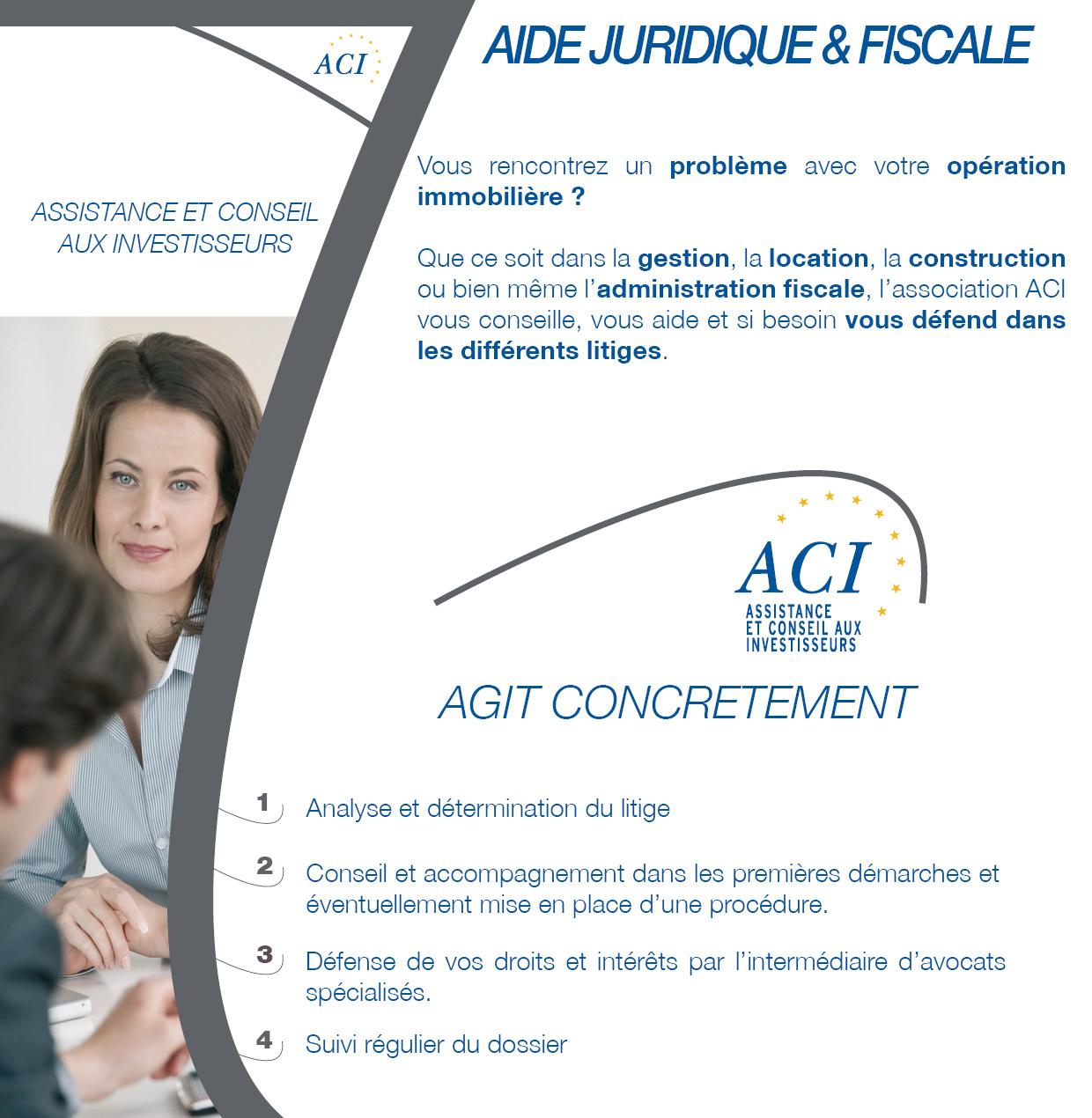 aide juridique et fiscale_ACI_2016